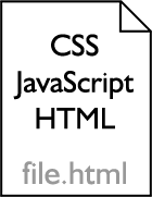 Using a single file for HTML, CSS, and JS
