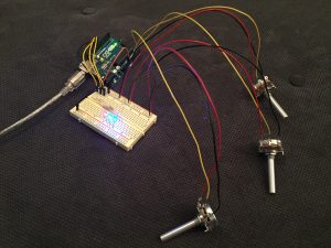 circuit board and LEDs