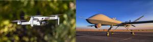 DJI and Predator Drone