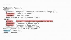 Example Venmo API Image